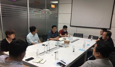 玉田创业园总经理带领团队赴启迪之星孵化器参观学习
